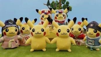 Anunciada una cuarta oleada de parejas de peluches de Pikachu de edición  limitada para Corea del Sur