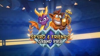 [Act.] Crash Team Racing Nitro-Fueled recibe el Grand Prix Spyro & Friends el 30 de agosto