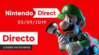 ¡Sigue aquí en directo y en español el nuevo Nintendo Direct!
