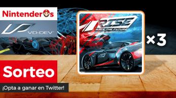 [Act.] ¡Sorteamos 3 copias de Rise: Race The Future para Nintendo Switch junto a VD-dev!