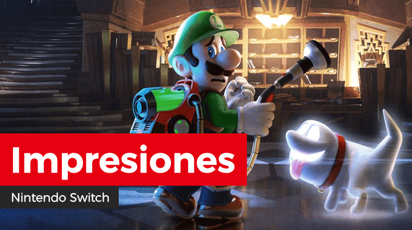 [Impresiones] Luigi's Mansion 3 para Nintendo Switch