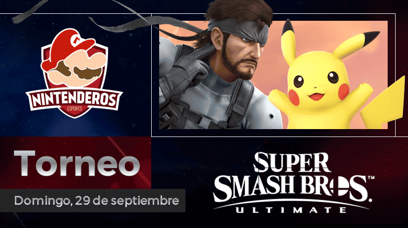 Torneo Super Smash Bros. Ultimate | ¡Reboot por parejas!