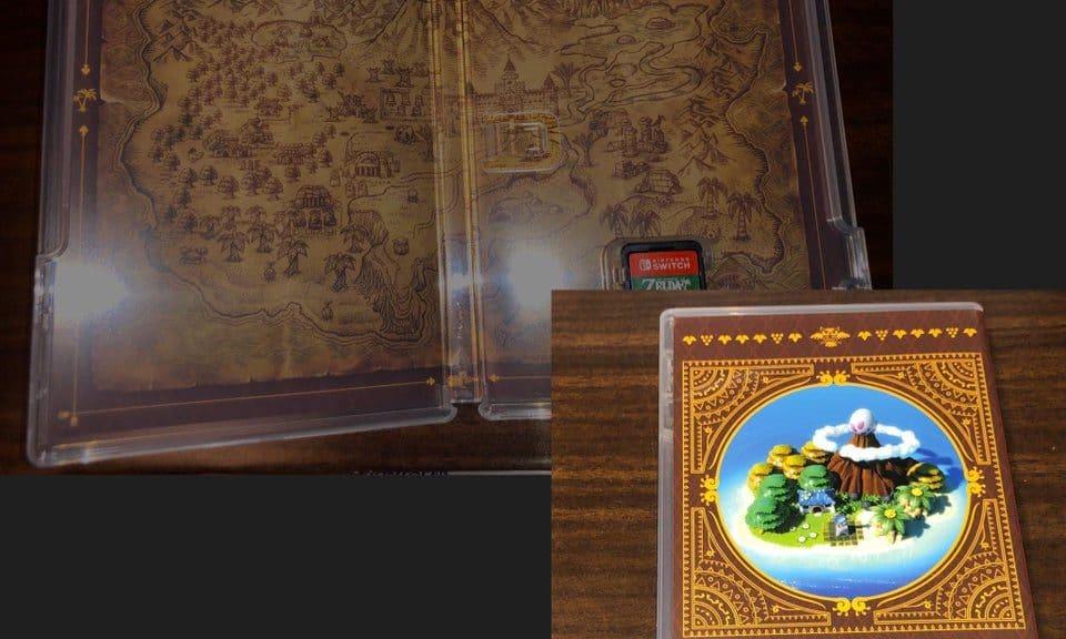 La Dreamer Edition americana de Zelda: Link's Awakening cuenta con un diseño de la caja diferente