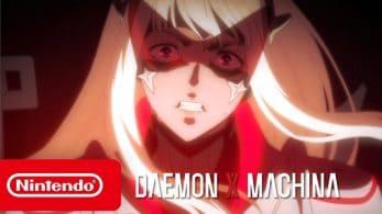 No te pierdas el nuevo tráiler de Daemon X Machina