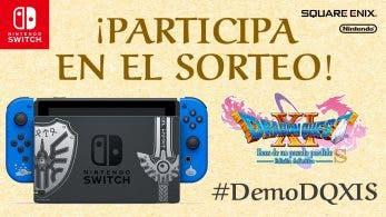 Nintendo España sortea una Nintendo Switch Edición Especial Dragon Quest XI S en Twitter