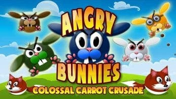 Angry Bunnies está disponible gratis en la eShop de Nintendo Switch