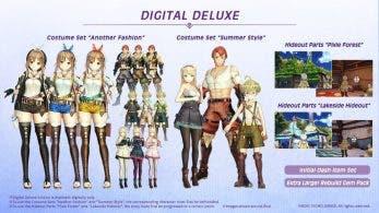 [Act.] Atelier Ryza contará con esta edición deluxe digital en Occidente
