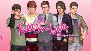 Anunciado Fall In Love: The Knight Brothers para Nintendo Switch