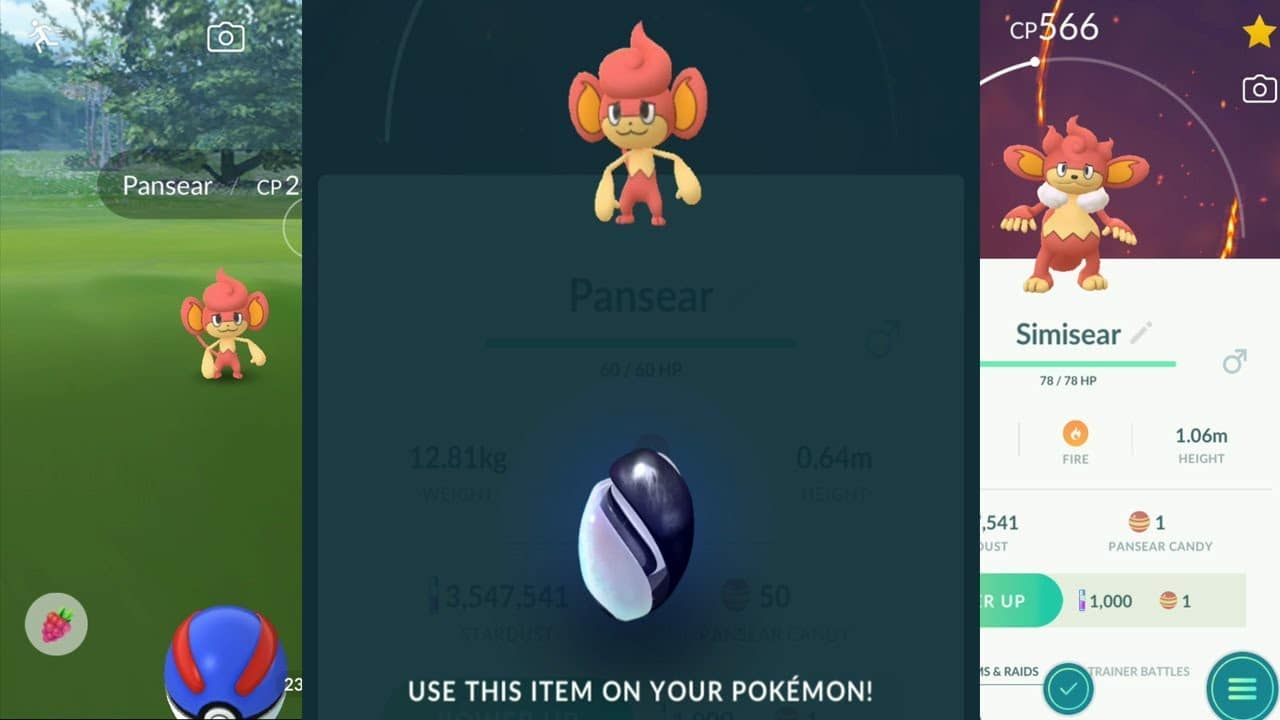 Gameplays de la llegada de los Pokémon de Teselia y otras novedades en Pokémon GO