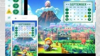 Nuevos calendarios y fondos de pantalla de Zelda: Link's Awakening entre las recompensas americanas de septiembre de My Nintendo