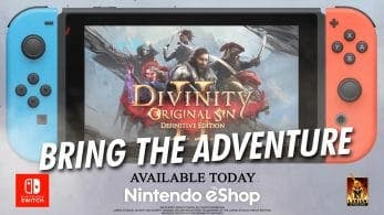 Divinity: Original Sin II – Definitive Edition ha sido anunciado para Nintendo Switch, disponible hoy