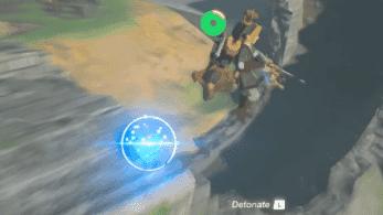 «Impacto de bomba propulsor» es el nuevo truco que usan los speedrunners en Zelda: Breath of the Wild