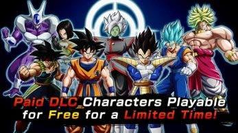Anunciada una campaña de prueba gratuita para los personajes de pago de Dragon Ball FighterZ