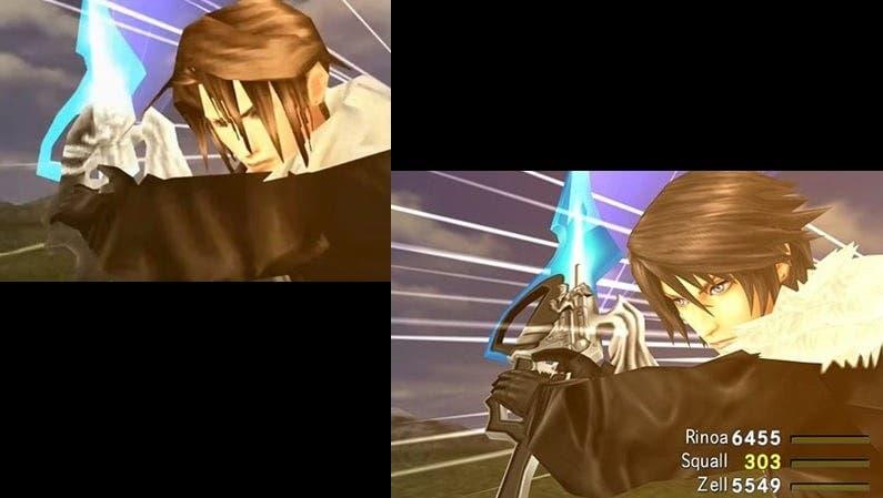 [Act.] Galería de imágenes compara Final Fantasy VIII Remastered con la versión original