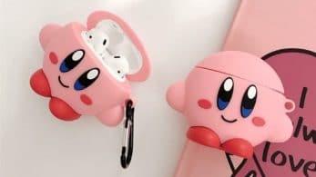 Echad un vistazo a este adorable estuche para AirPods de Kirby