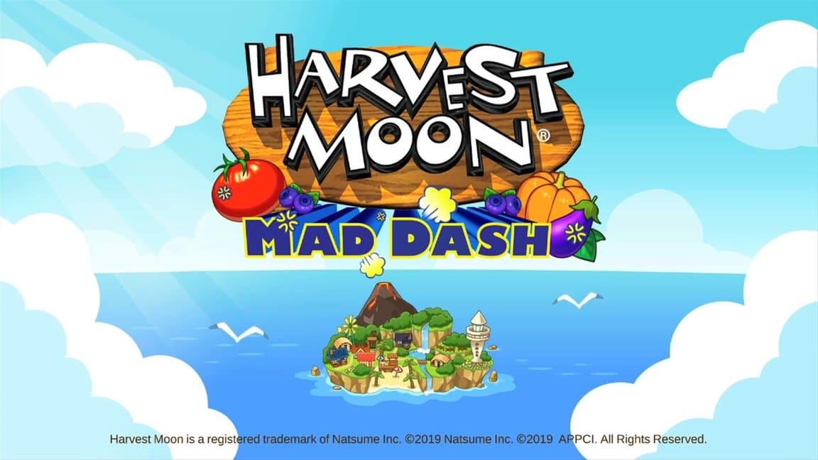 Harvest Moon: Mad Dash se lanza el 29 de octubre en Nintendo Switch