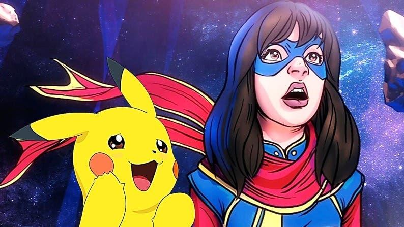 Ms. Marvel es fan de Pokémon y aquí está la prueba