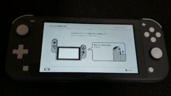 Nintendo Switch Lite pide que desacoplemos los Joy-Con a pesar de que no se puede