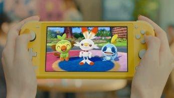 [Act.] Este nuevo comercial japonés nos muestra como luce Pokémon Espada y Escudo en Nintendo Switch Lite