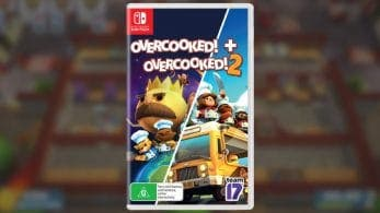 El pack físico de Overcooked! 1 y 2 para Nintendo Switch se confirma en Japón