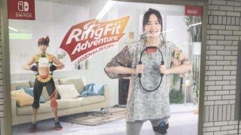 Ring Fit Adventure ya se está anunciando en carteles en Japón