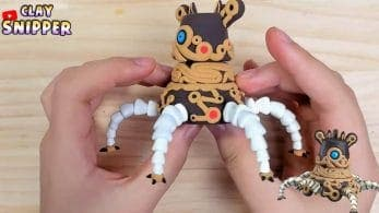 Recrean con plastilina al Guardián de The Legend of Zelda: Breath of the Wild