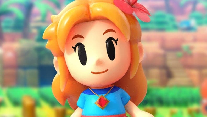 Este vídeo recopila las interacciones de Link y Marin en The Legend of Zelda: Link's Awakening
