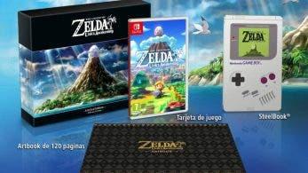 Unboxing de la edición limitada europea de Zelda: Link's Awakening
