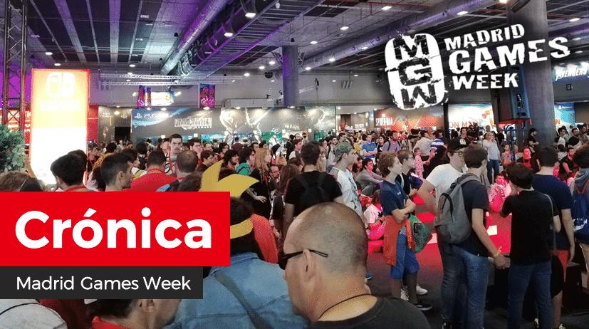 [Crónica] Asistimos a la Madrid Games Week 2019