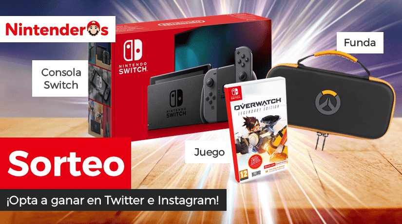 [Act.] ¡Sorteamos una Nintendo Switch + Overwatch: Legendary Edition + Funda!