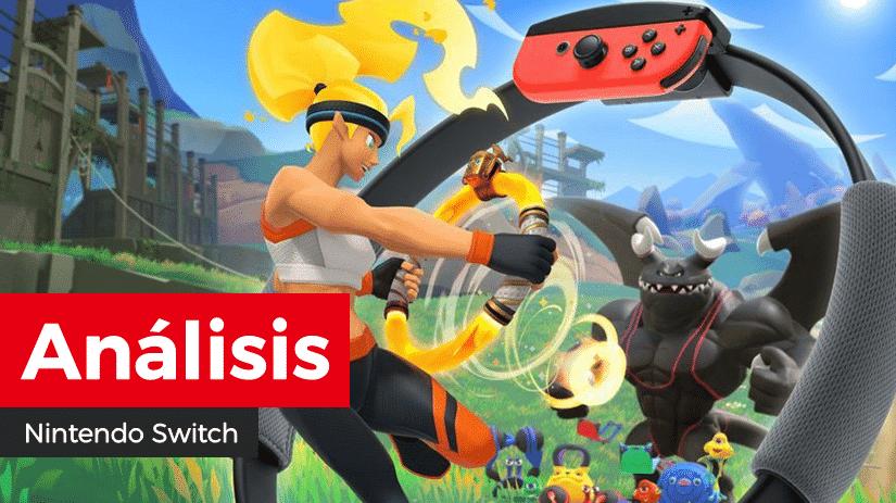 [Análisis] Ring Fit Adventure para Nintendo Switch