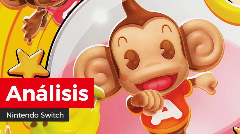 [Análisis] Super Monkey Ball: Banana Blitz HD para Nintendo Switch