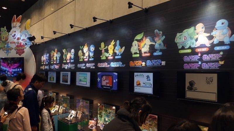 Echad un vistazo a estas fotos de la exhibición de Pokémon en Nintendo Live 2019