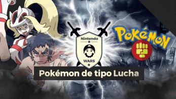 ¡Arranca Nintendo Wars: Pokémon de tipo Lucha!