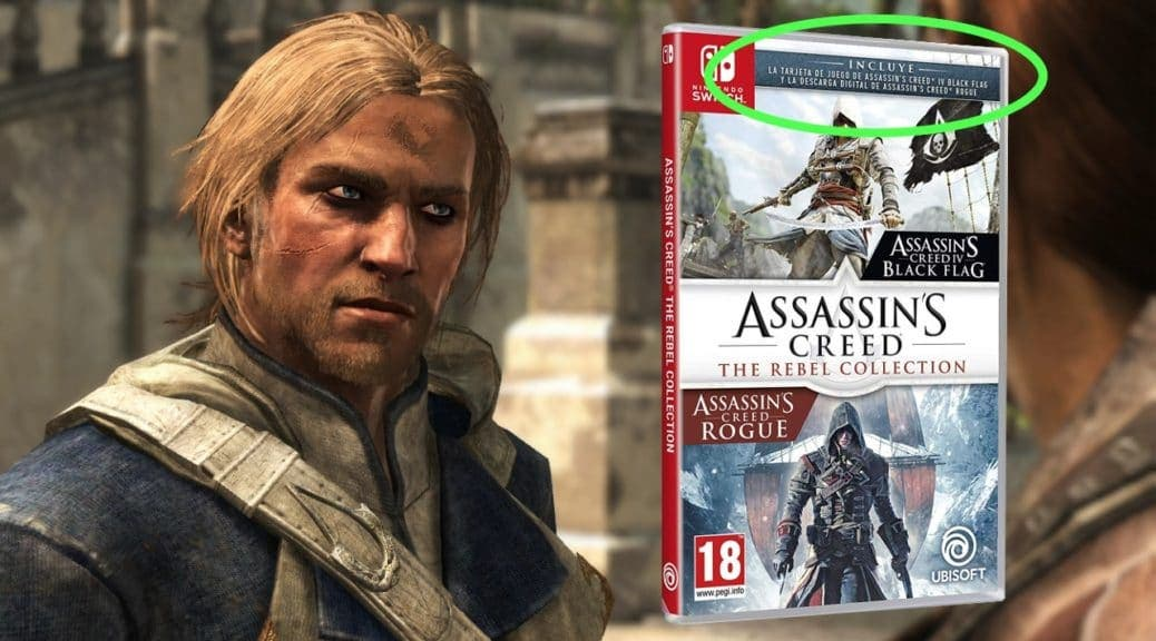 El Boxart Espanol De Assassin S Creed The Rebel Collection Parece
