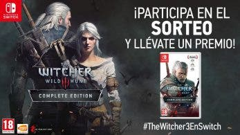 Nintendo España sortea 3 The Witcher 3 para Switch en Twitter con #TheWitcher3EnSwitch