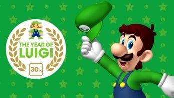 La cuenta oficial de Super Mario en Reino Unido nos recuerda que 2013 fue el año de Luigi