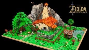 Fan de LEGO recrea de forma excepcional la casa de Link en Zelda: Breath of the Wild