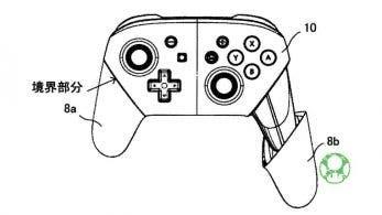 Nintendo ha registrado una nueva patente del Mando Pro de Nintendo Switch