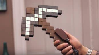 No te pierdas este mando personalizado de Minecraft en forma de pico