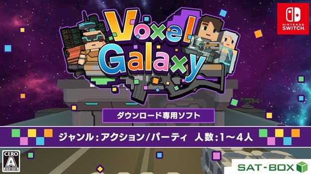 Anunciado Voxel Galaxy para Nintendo Switch