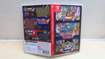 Unboxing de la versión física de Dragon Quest I/II/III para Nintendo Switch
