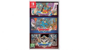 La edición física de Dragon Quest I, II y III para Nintendo Switch se lanza el 24 de octubre