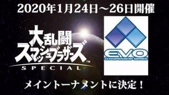 Super Smash Bros. Ultimate estará presente en el EVO Japan 2020