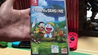 Primeros vídeos del unboxing de Doraemon Story of Seasons y Spirit Hunter: NG
