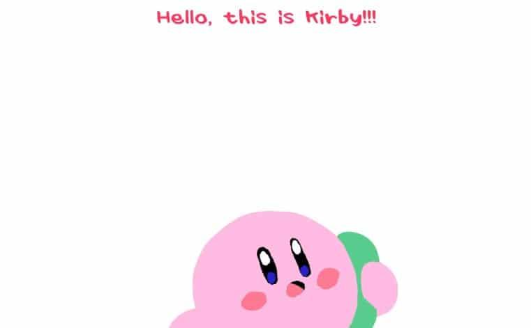 El Drama CD oficial de Kirby confirma que el personaje sabe hablar y cantar