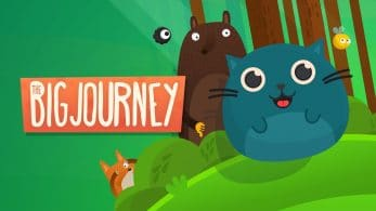 Guía al gordito felino Mr. Whiskers en The Big Journey, disponible el 31 de octubre en Nintendo Switch