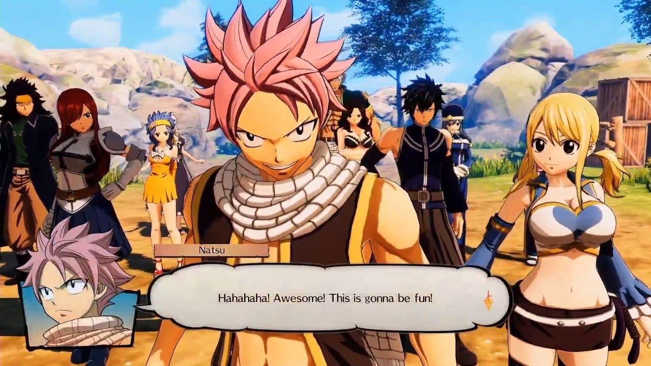Fairy Tail estrena nuevo gameplay procedente de la EGX 2019 ...