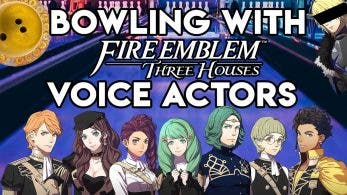 Vídeo: Actores de voz de Fire Emblem: Three Houses se animan a jugar a los bolos