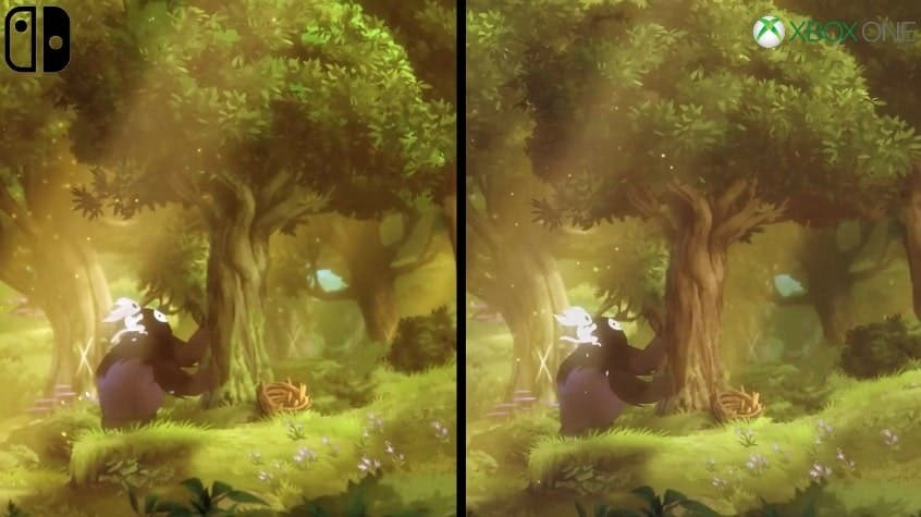 Comparativa en vídeo de Ori and the Blind Forest: Nintendo Switch vs. Xbox One